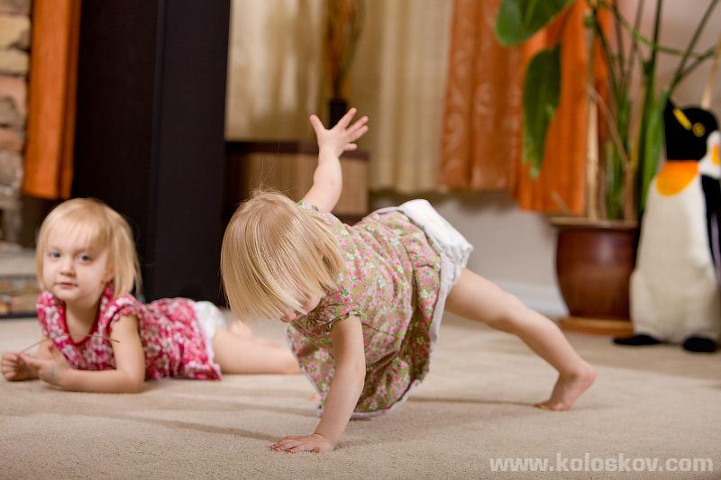 Lifestyle photography, baby yoga