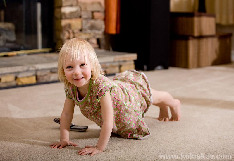 Baby yoga, children photography