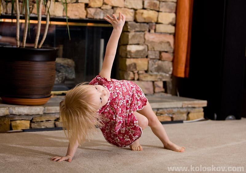 Baby yoga :-)